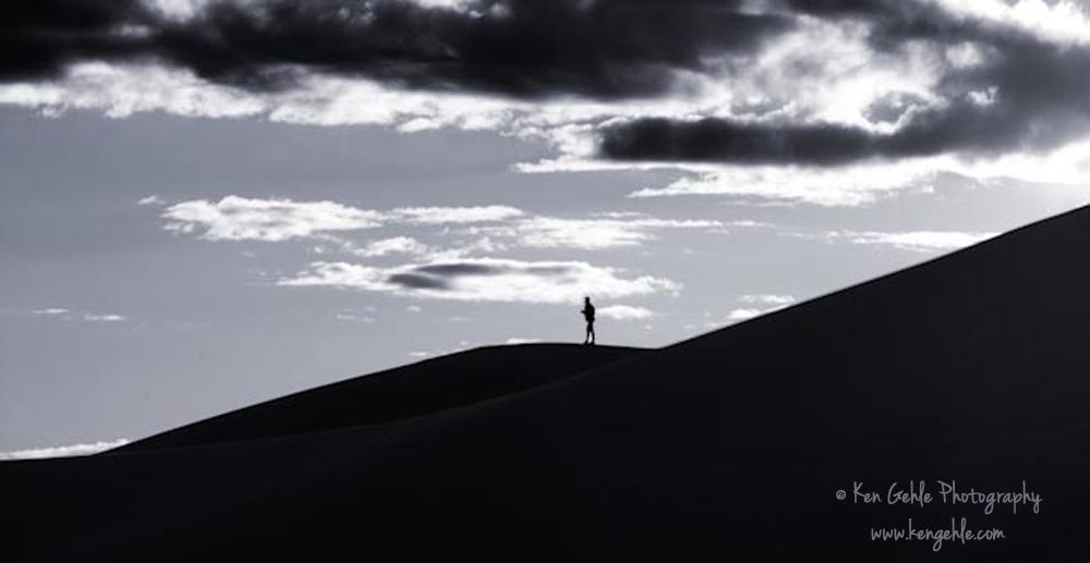 Death Valley dune walker