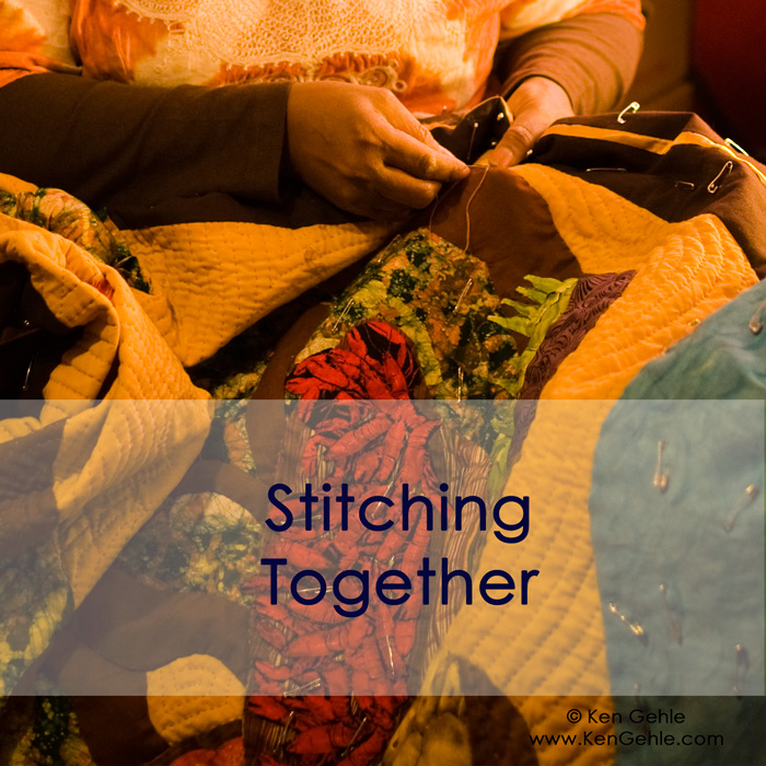 Stitching Together