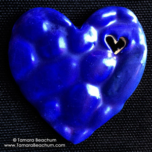 heARTwork giveaway: My Blue Heart