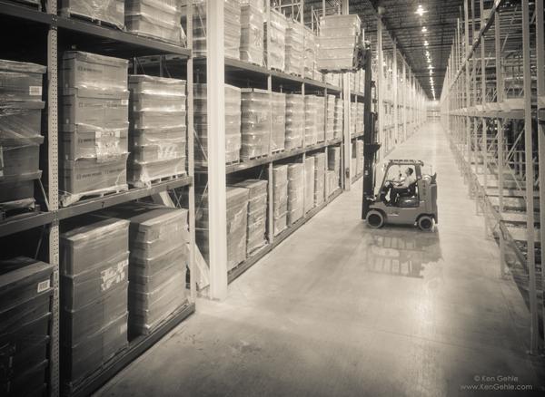 Warehouse Fork Lift