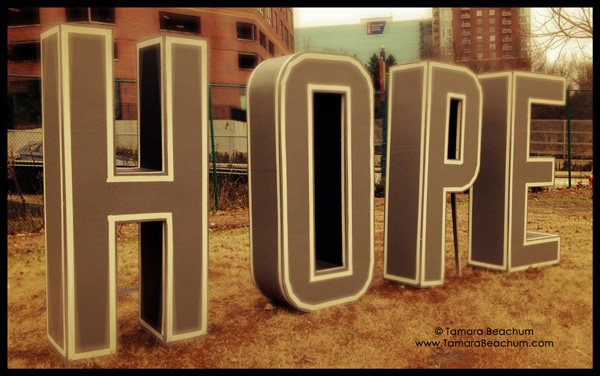 Begin with Hope