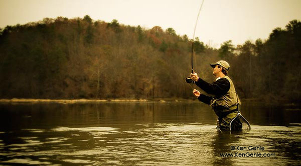 Wordless Wednesday: Fly Fisherman I